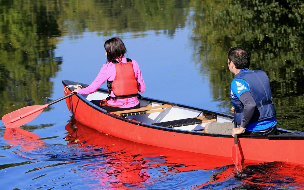 Book a guided Canoe Tour with Way To Go Adventures